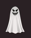 Призрак хеллоуина Стоковое фото RF