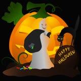 Призрак хеллоуина Бесплатная Иллюстрация
