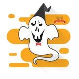 Призрак хеллоуина Стоковое Изображение