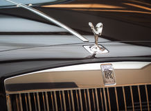 Призрак Rolls Royce и исключительный роскошный Rolls Royce Стоковое Изображение RF