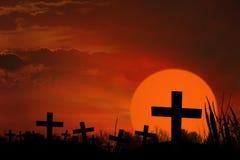 Призрачная могила Стоковая Фотография