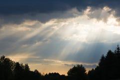 призрачный свет Стоковая Фотография