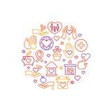 Призрение, забота, концепция вектора помощи, некоммерческая организация и логотип волонтера иллюстрация вектора