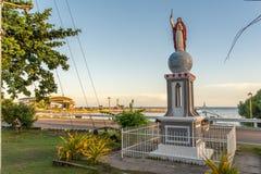 Приз Иисуса на церков Baclayon, Bohol Стоковые Фотографии RF