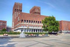 приз места мира nobel Осло здание муниципалитет церемонии Стоковые Фотографии RF