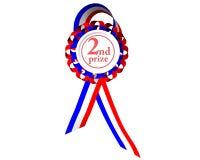 приз медали во-вторых Стоковая Фотография RF