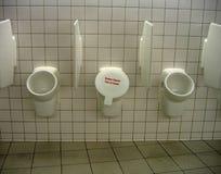 прикажите вне urimal Стоковые Изображения