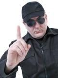 Приказывая полицейский Стоковые Фотографии RF