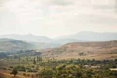 прикарпатская долина Украины горы Стоковая Фотография RF