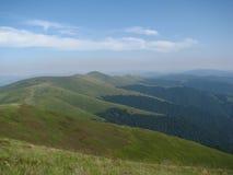 Прикарпатские горы, запад Украины Стоковое Изображение RF