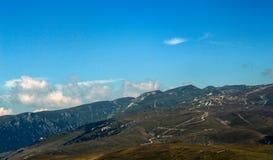 Прикарпатские горы от Румынии Стоковое Изображение