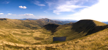 Прикарпатские горы Стоковое фото RF
