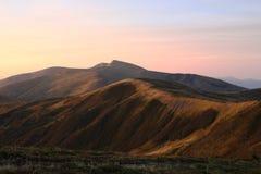 Прикарпатские горы Стоковые Изображения RF