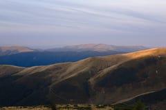 Прикарпатские горы Стоковая Фотография RF