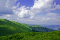 прикарпатские горы Стоковое Изображение