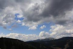 Прикарпатские горы Bukovel стоковое изображение rf