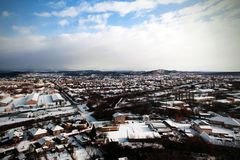 прикарпатские mts малая Украина церков западная стоковые фото