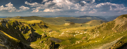 Прикарпатский ландшафт Стоковое фото RF