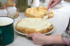 Прикарпатский торт. Стоковое Фото