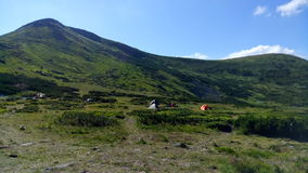 Прикарпатское Chornohora Стоковые Фотографии RF
