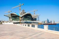 Прикаспийский мол портового района, Баку стоковые изображения rf