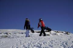 Приключение к спорту зимы Стоковые Фото
