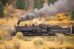 Приключение поезда утесистой горы Стоковые Фото