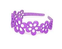 прикрепите пурпур волос Стоковая Фотография RF