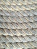 прикрепленный корабль веревочки Стоковые Фото