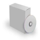 прикройте компактный диск коробки Стоковое фото RF