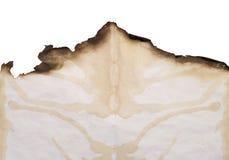 прикройте, котор сгорели край Стоковые Изображения RF