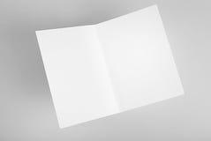 Прикройте открытую карточку стоковое изображение rf