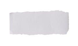 Прикройте сорванную бумагу стоковые изображения rf
