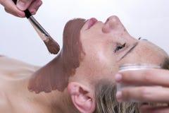Прикладывать лицевую маску стоковая фотография rf