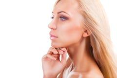 прикладывать политуру кожи внимательности прозрачную Стоковые Фотографии RF