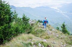 Приключение горы Стоковая Фотография RF
