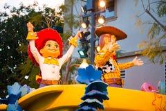 Приключение Калифорнии парада Дисней Pixar Стоковая Фотография RF