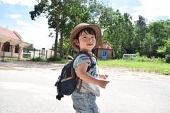 Приключение младенца на всемирном наследии Mison Стоковые Фото