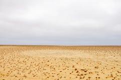Приключение среди облицеванных образований песка Стоковые Фотографии RF