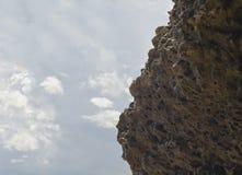 Приключения скалолазания Стоковое Изображение
