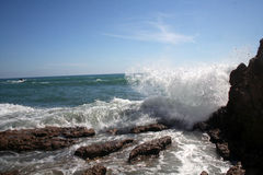 прилив предстоящий Стоковая Фотография RF
