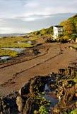 прилив st реки lawrence низкий Стоковая Фотография