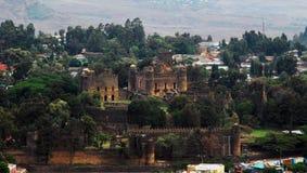 Приложение Fasil Guebbi королевское, Gondar, Эфиопия стоковая фотография