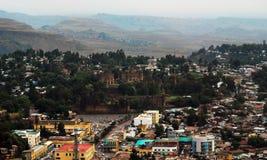 Приложение Fasil Guebbi королевское, Gondar, Эфиопия стоковые фотографии rf