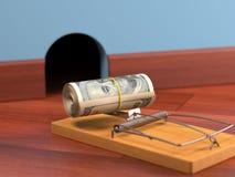 Приманка денег Стоковое Изображение RF