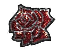 Применение цветка сделанного из ткани Изолят на белизне Стоковые Фотографии RF
