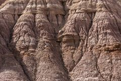 Пример выветривания размывания около Escalante Юты США Стоковые Изображения RF