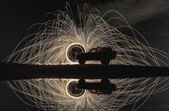 Пример фотографии долгой выдержки Стоковое Фото