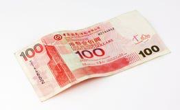 Примечание доллара Hong Kong 100 Стоковая Фотография RF