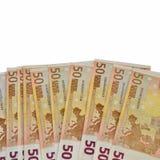 примечание евро Стоковые Фотографии RF